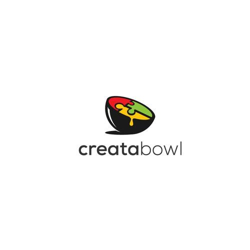 Logo for a virtual restaurant