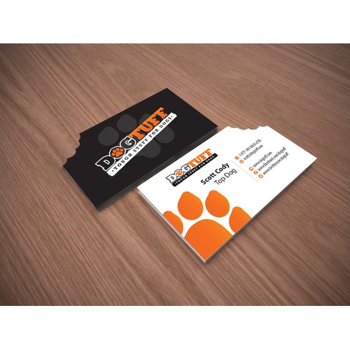 Business Card  |  Dog Toy company