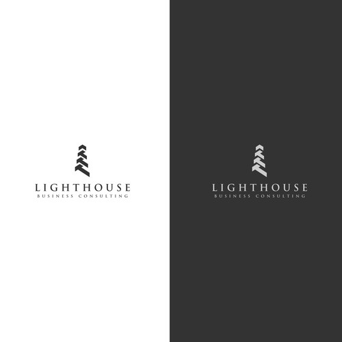 Contemporary concept for lighthouse consulting