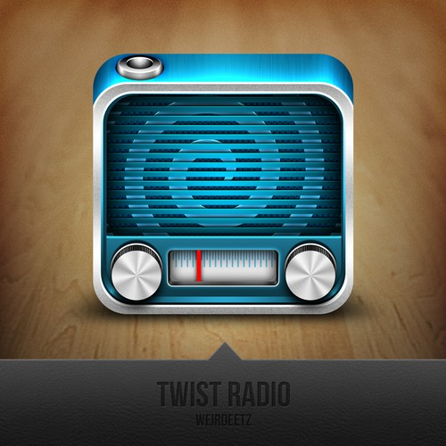 iPhone App icon wanted for Twist Radio