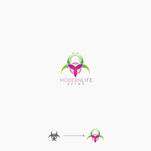 Logo for detox product