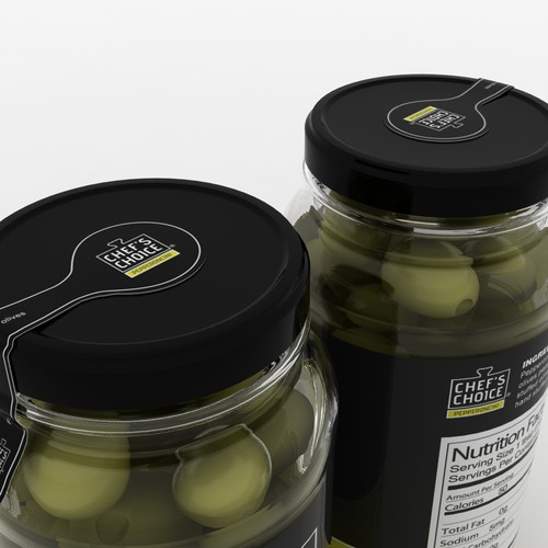 Labels for line of stuffed olives