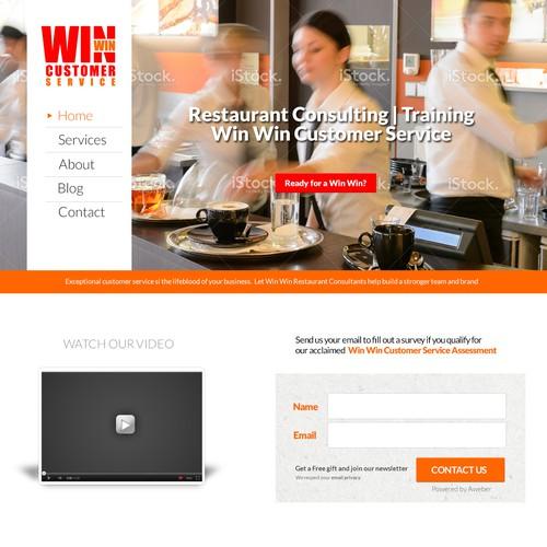 Restaurant consulting service website
