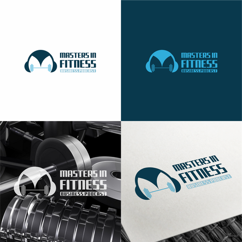 Fitness podcast design