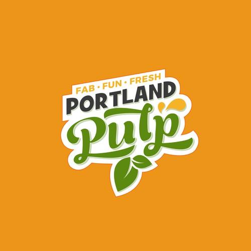 Portland Pulp Logo Design