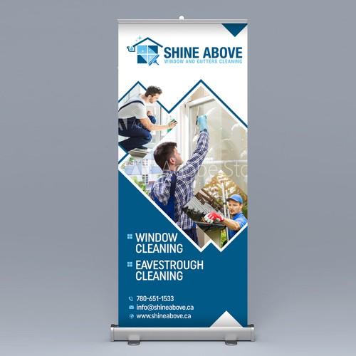 Shine Above (Pop-up Banner Design)