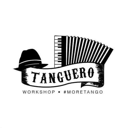 Logotype for argentine tango music place