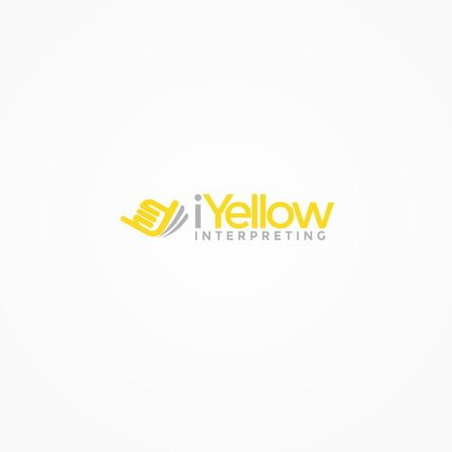 logo concept for i Yellow Interpreting