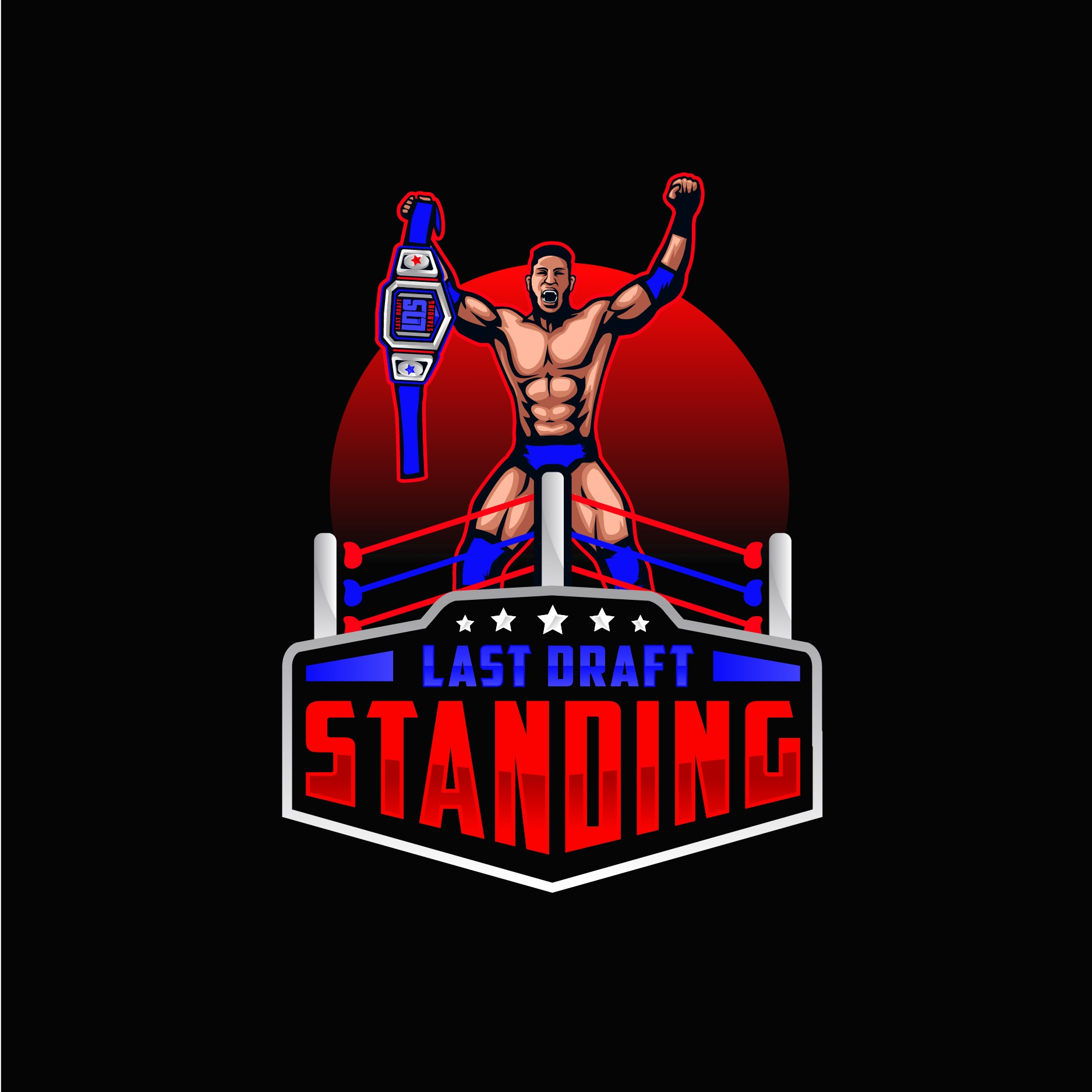 Need to find the last logo standing for our fantasy wrestling site!