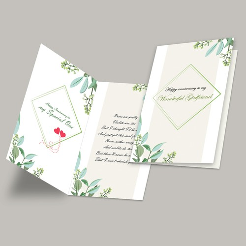 Greeting Card design
