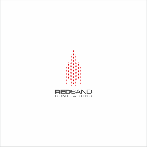 logo for general contracting company that specializes in construction industries