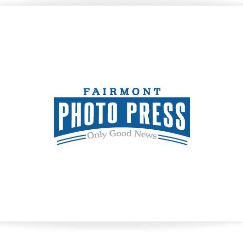Create the next logo for Fairmont Photo Press