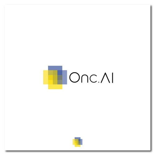 Logo for modern medical company.