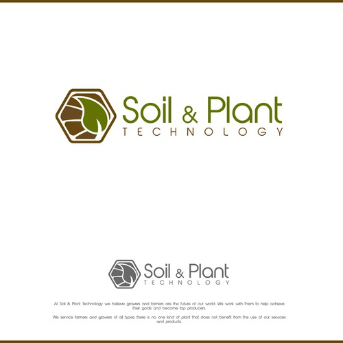 Logo concept for Soil & Plant Technologies