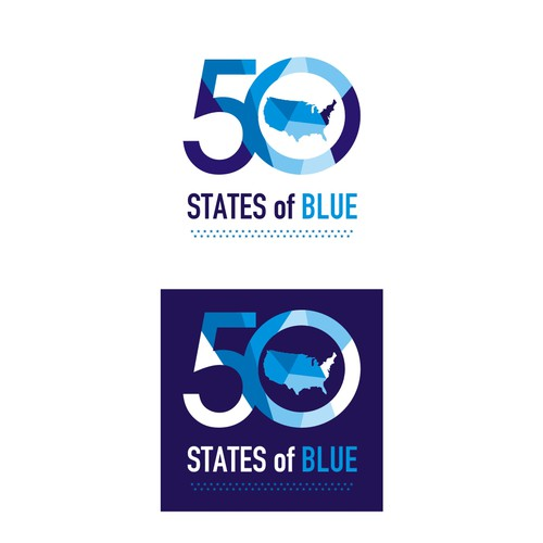 50 State of blue logo