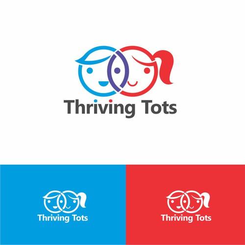 Thriving Tots logo