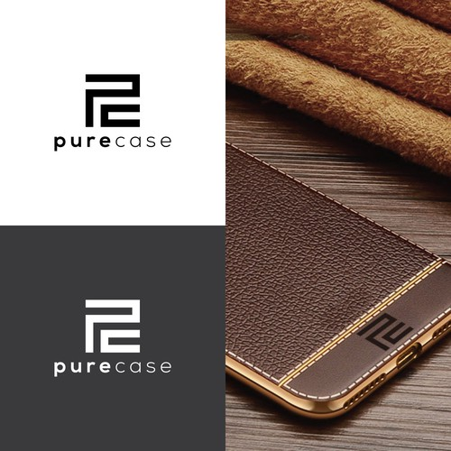 logo for pure case