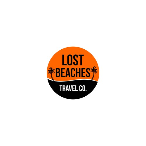 Flat Logo for Traveling Agency
