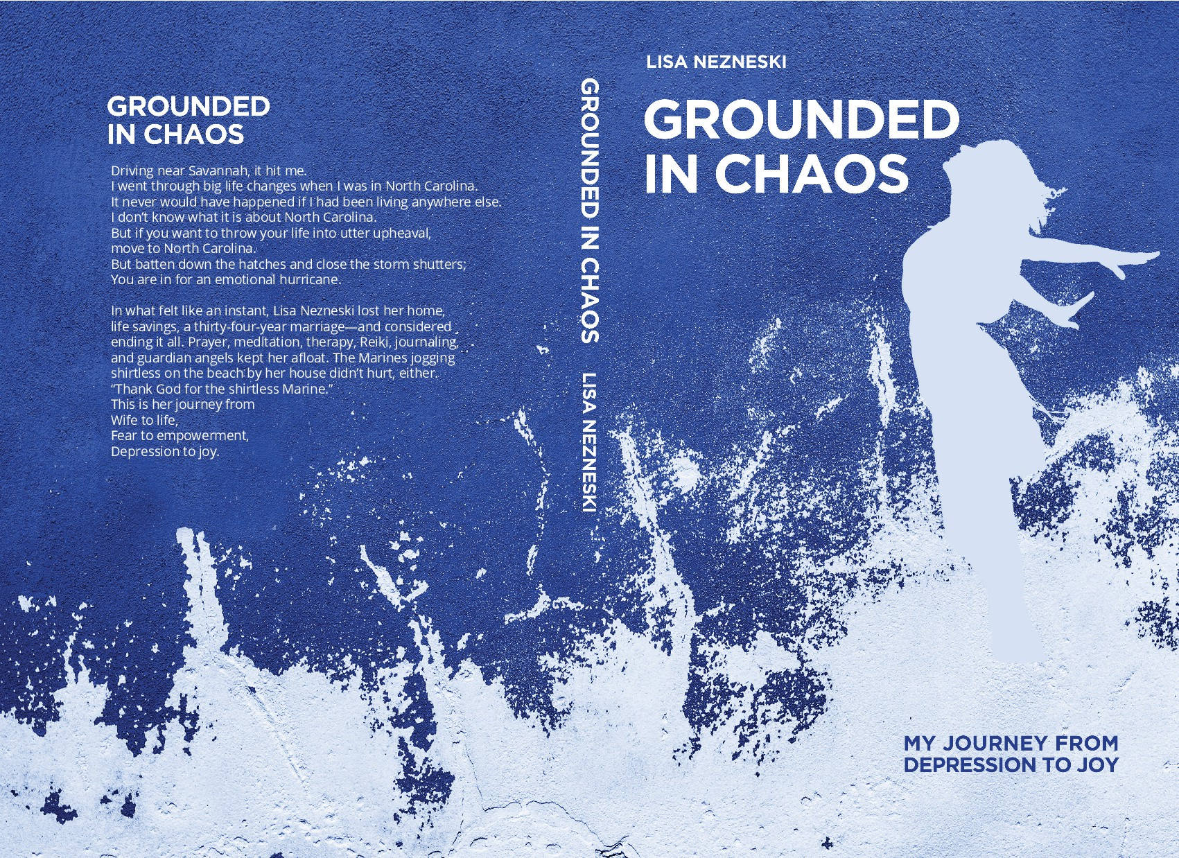 Bookcover: Staying Grounded in the Middle of Chaos( POETRY)