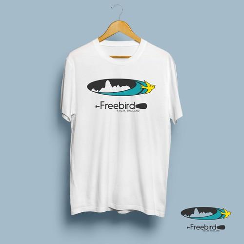 Freebird Shirt Logo Design