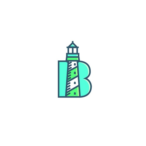Beacon Discovery line art logo 1