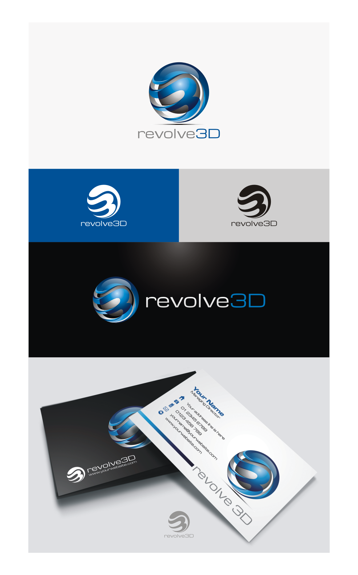 Create a logo for a new 3D printing company