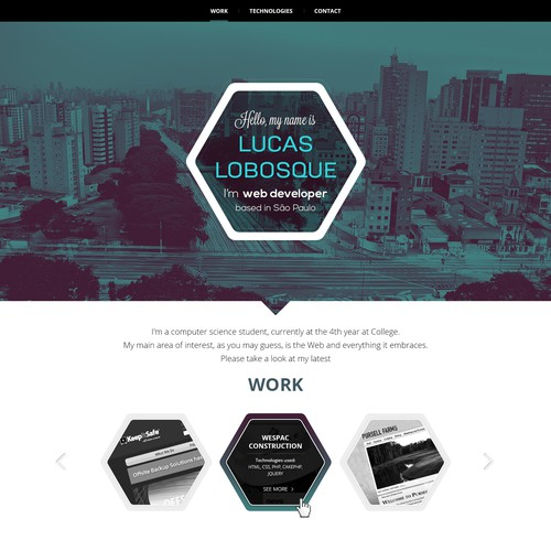 Lucas Lobosque needs a new website design