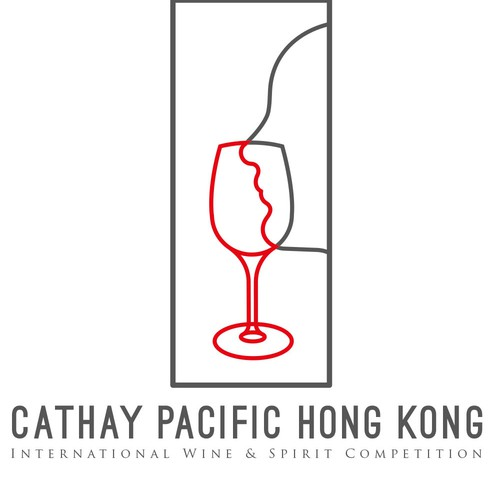Cathay Pacific International wine and Spirit competition logo