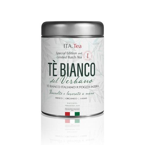 Tea container Label