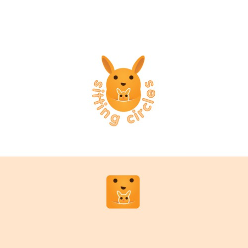 Design a logo for a social media based babysitting mobile app