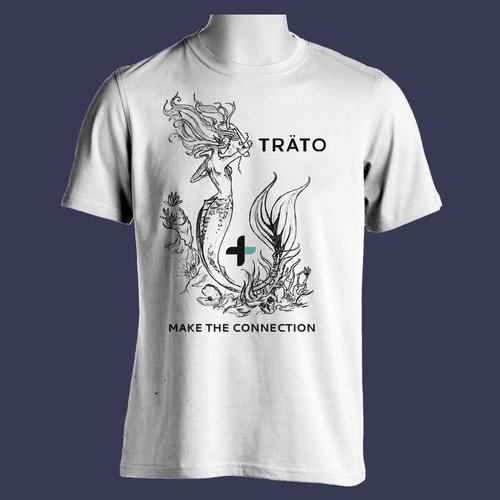 Mermaid for TRATO t-shirt