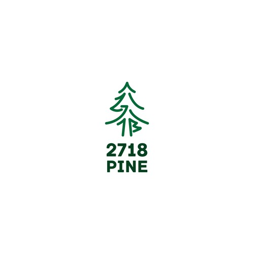 2718 Pine Sample Logo
