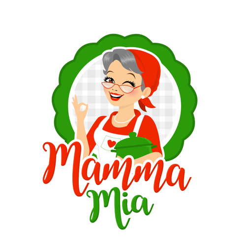 Character Logo for an italian Restaurant