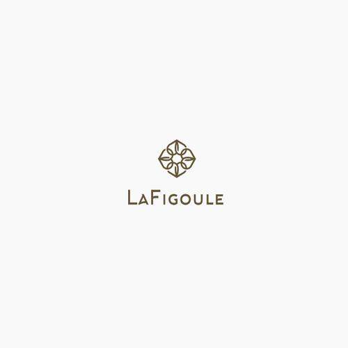 Elegant logo with mediterranean art influences