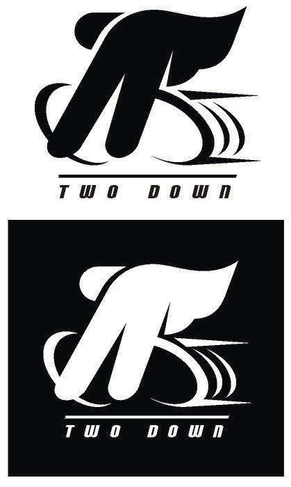 two down needs a new logo