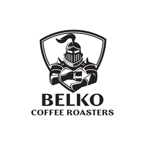 Logo concept for a coffee roaster company.