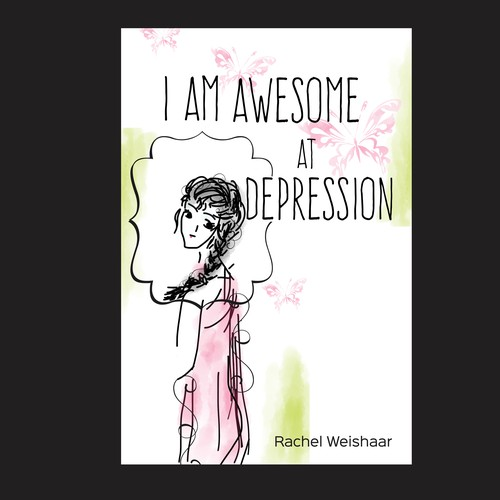 I am awesome at depression cover
