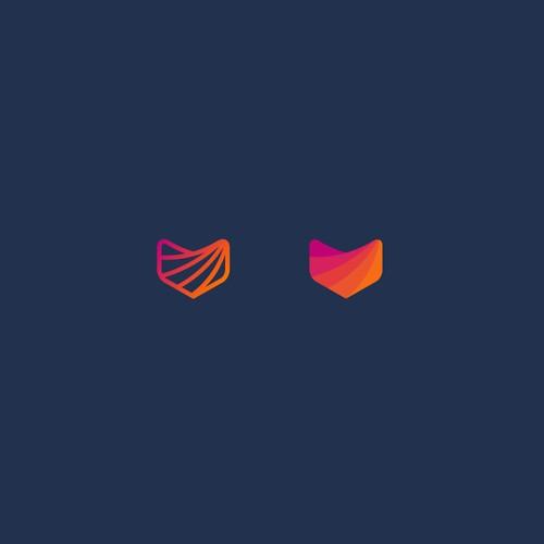 Design a contemporary logo for AI powered technology company