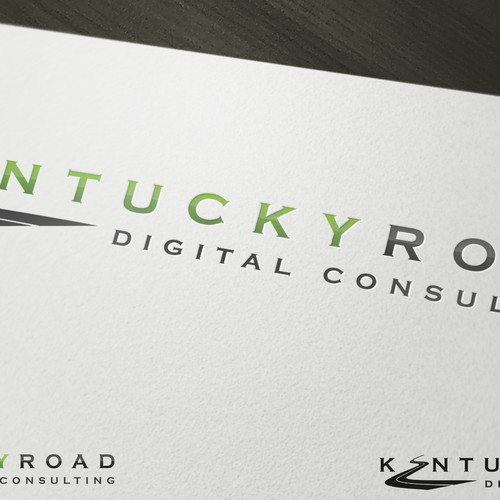 Create a logo symbolising our digital future that is just a little bit country