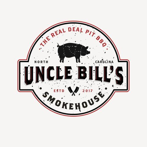 Uncle Bill's Smokehouse logo
