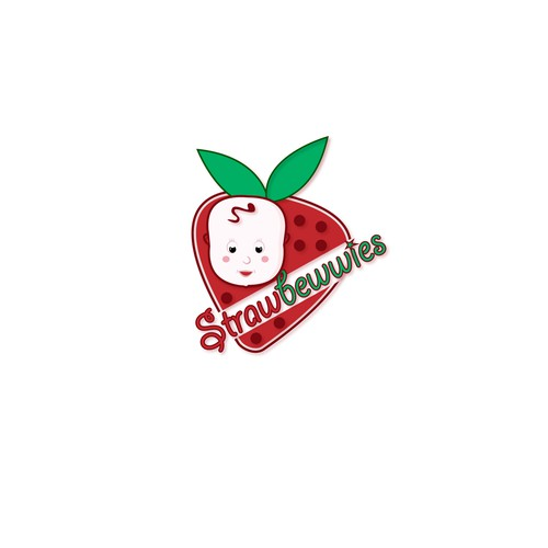 logo concept of strawbewwies
