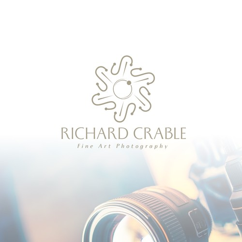 Luxurious logo concept for Richard Crable