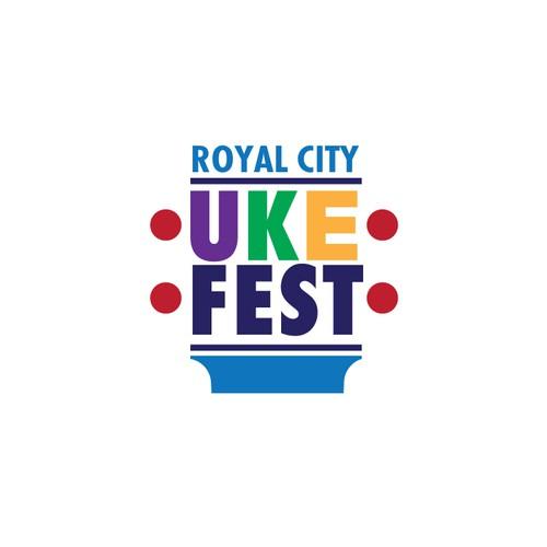 Royal city ukulele event logo