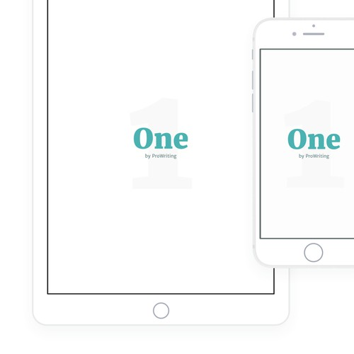 Minimalist writing iPad & iPhone app