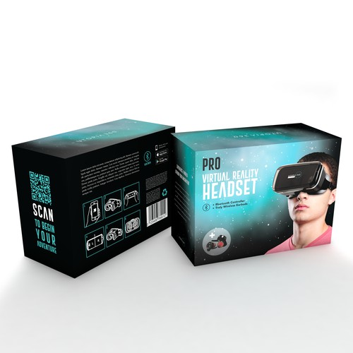 UTOPIA 360 Vr Headset Packaging