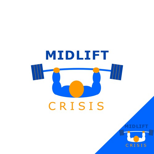 Logo for a weight lifting magazine