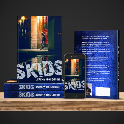 SKIDS stands for Street Kids. Cover for a book by Jeremy Houghton