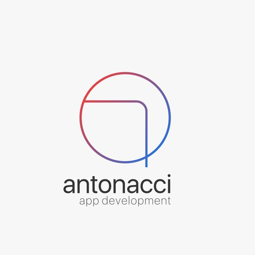 Logo for Iphone apps developing business