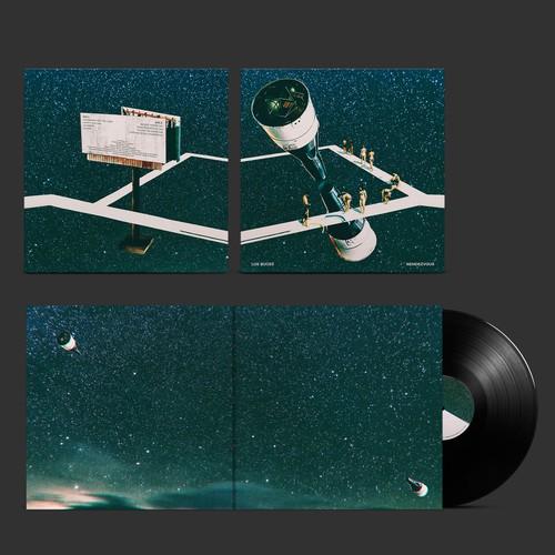 """Los Buges """"Rendezvous"""" album artwork. Discos Furia"""
