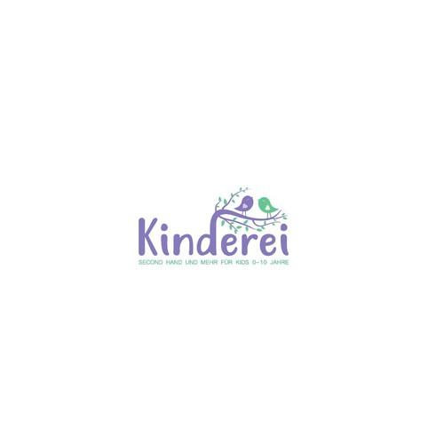 "Logo design for ""Kinderei""."